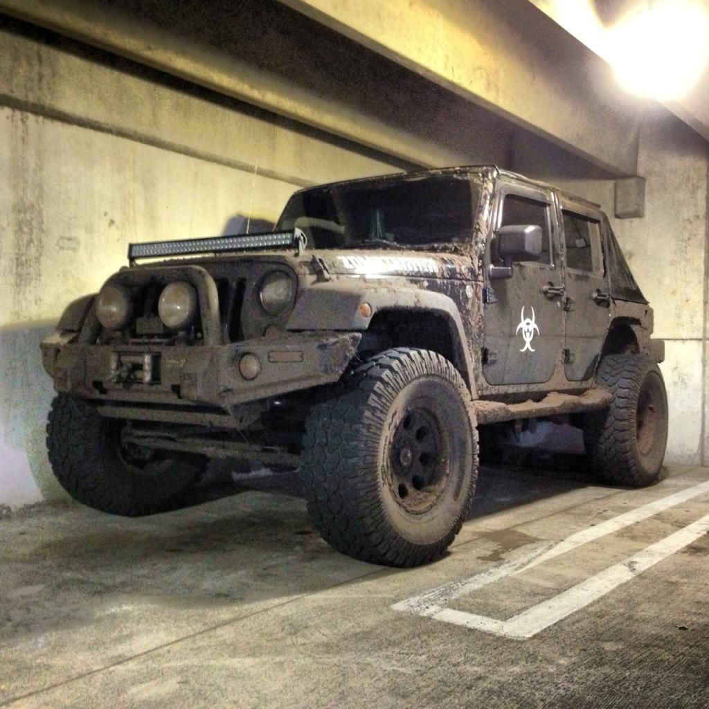 The Jeep We Purchased: Assault Jeep Off Road Lift