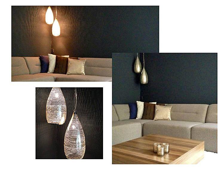 Arabische lampen Bosa maat L in hoek woonkamer. | Arabische lampen ...