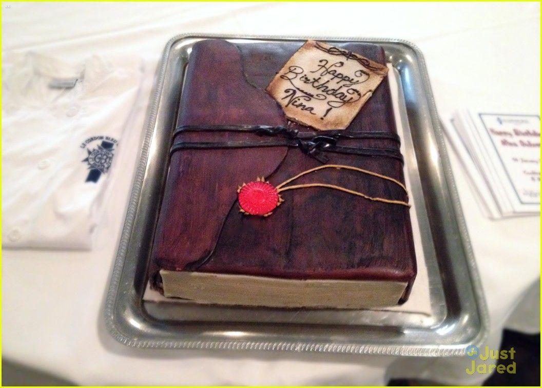 Nina dobrevs 23rd birthday cake book birthday parties