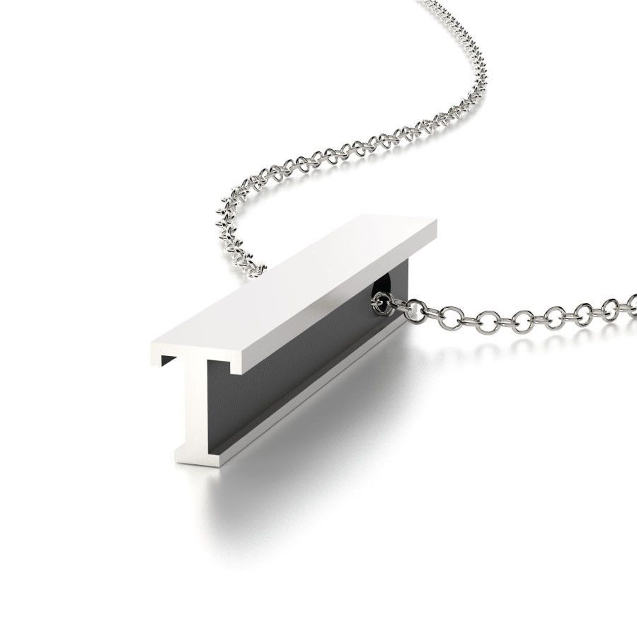 Hidden message letter t necklace letters products and necklaces