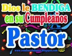 Cumple Pastor Feliz Cumpleanos Pastora Imagen Feliz