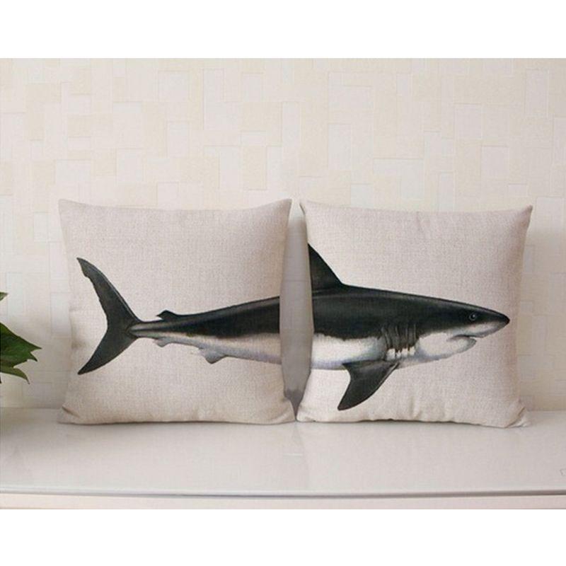 Animal Elaphant Series Cushion Combination Throw Pillow Shark Cachalot  Dinosaur Cushion Home Decorative Pillows 43  0880650bec