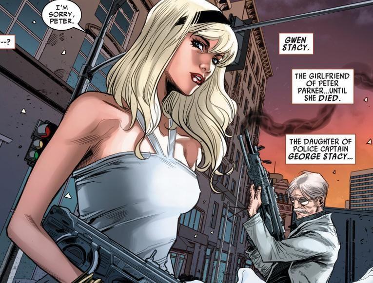 Gwen Stacy Clone from Superior Spider-man