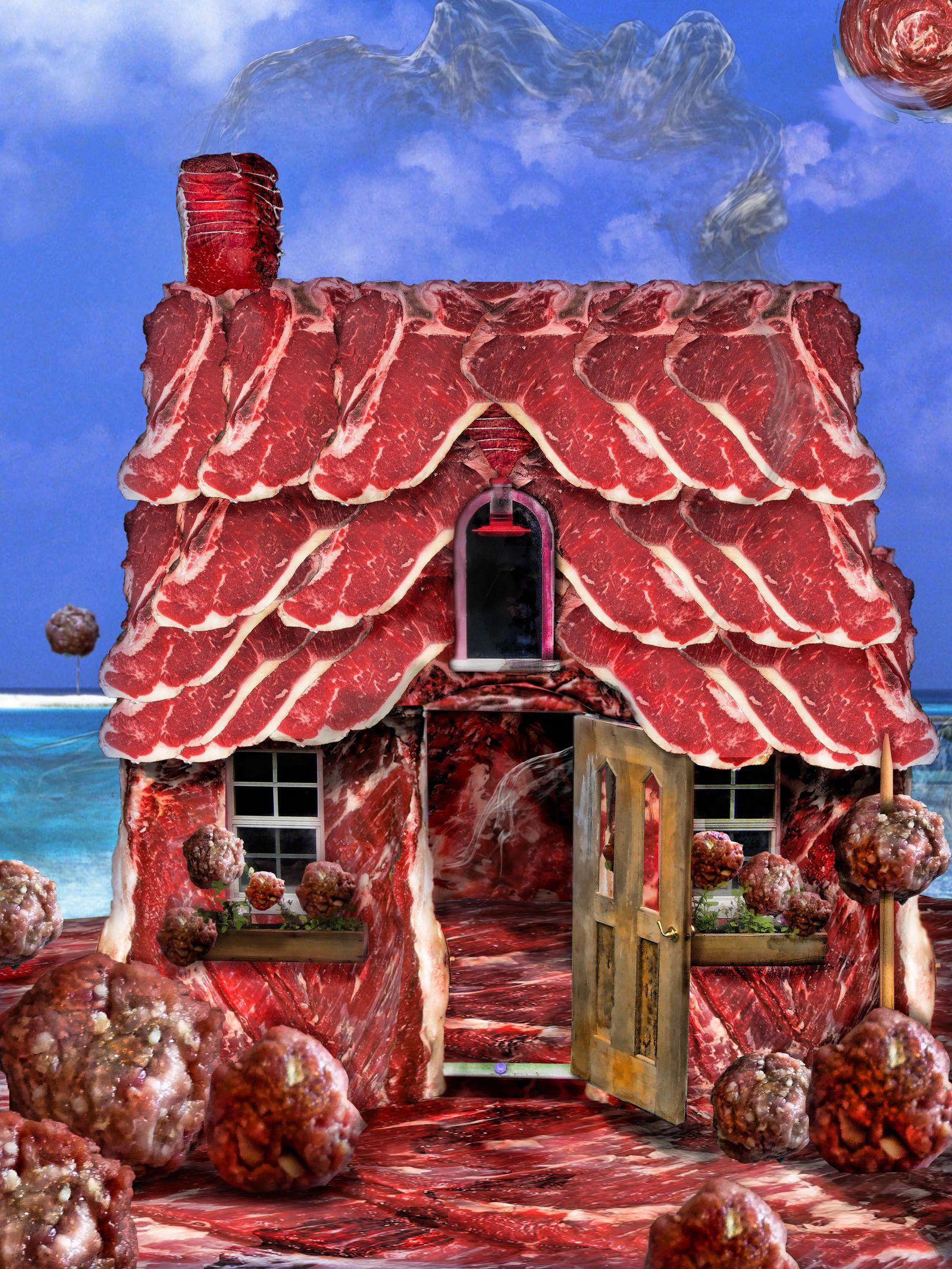 meat house by preemiememe on DeviantArt