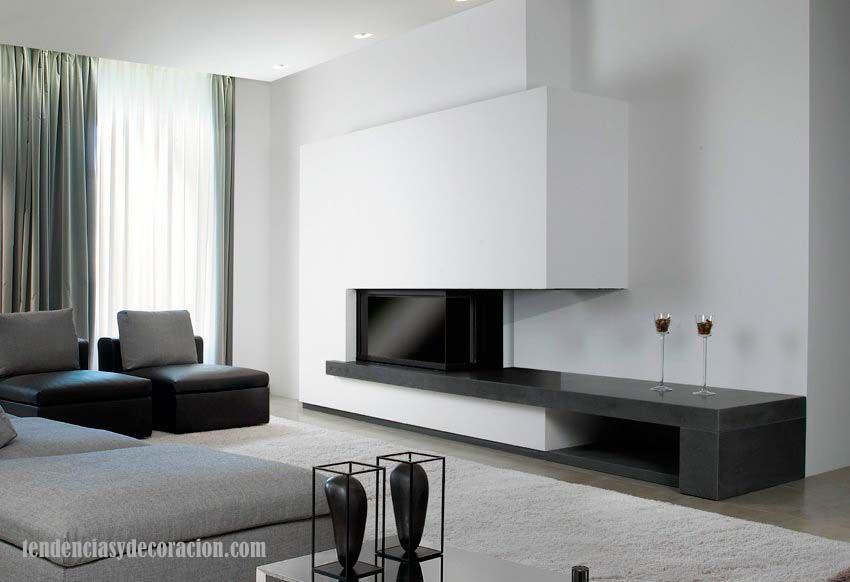BlogTendenciasyDecoración: 15 hogares-chimeneas con estilo