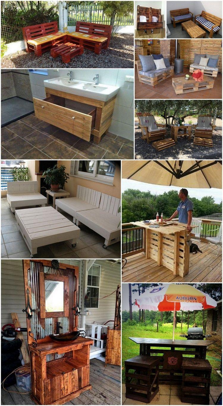 Unglaublich Einfache Handgemachte Paletten Holz Projekte, Die Sie DIY  Können #einfache #handgemachte #konnen #paletten #projekte #unglaublich