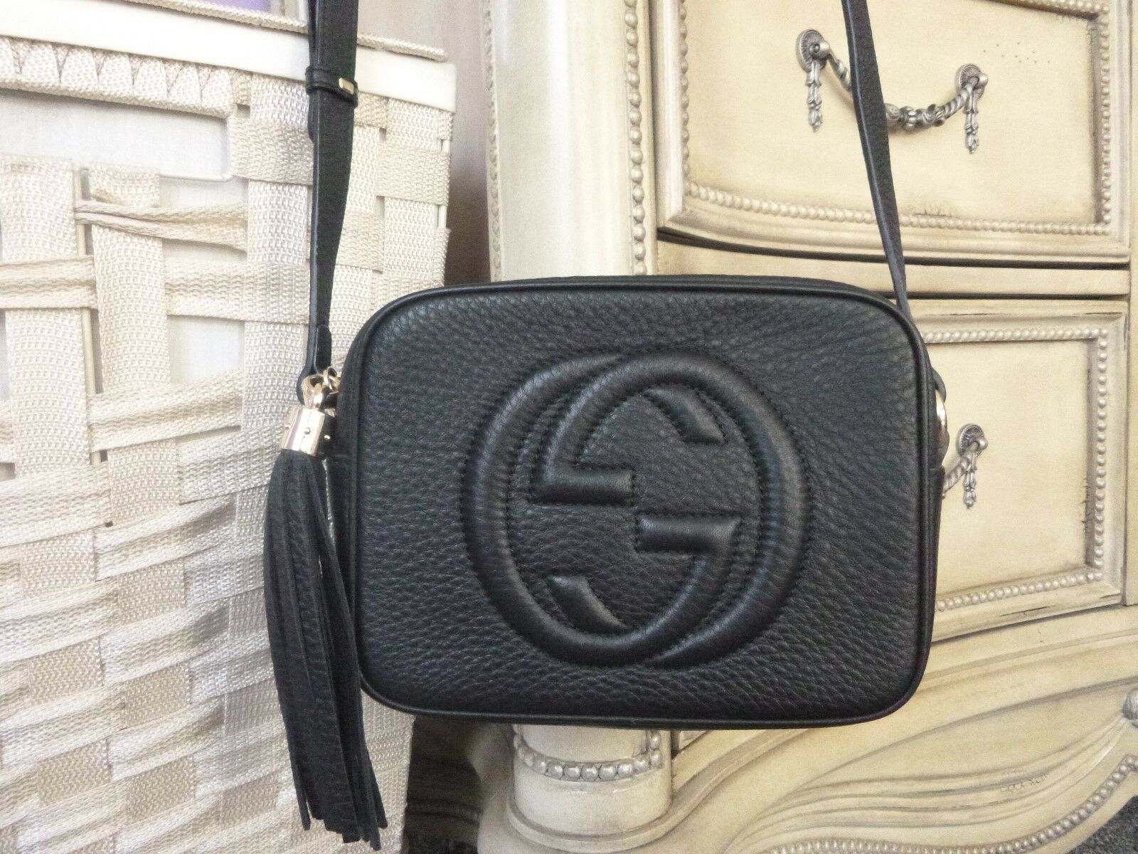 dcd76a4ad Details about AUTHENTIC GUCCI SOHO DISCO BAG - BLACK in 2019 | Gucci ...
