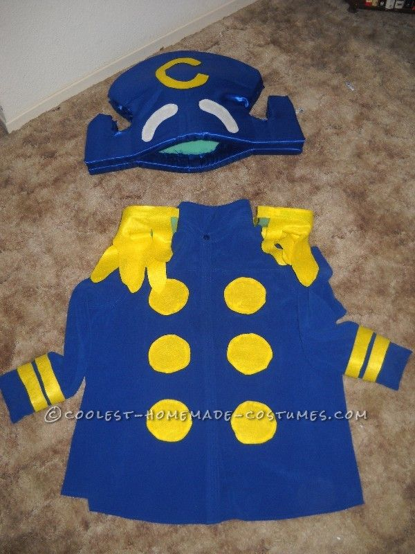 Homemade Captain Crunch Halloween Costume Adult Captain