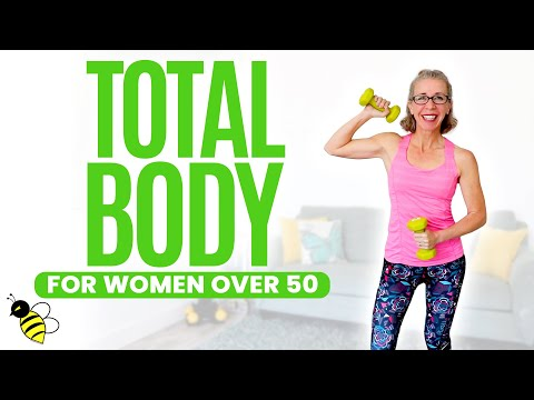 7 25 minute total body burn workout for women over 50 ⚡️