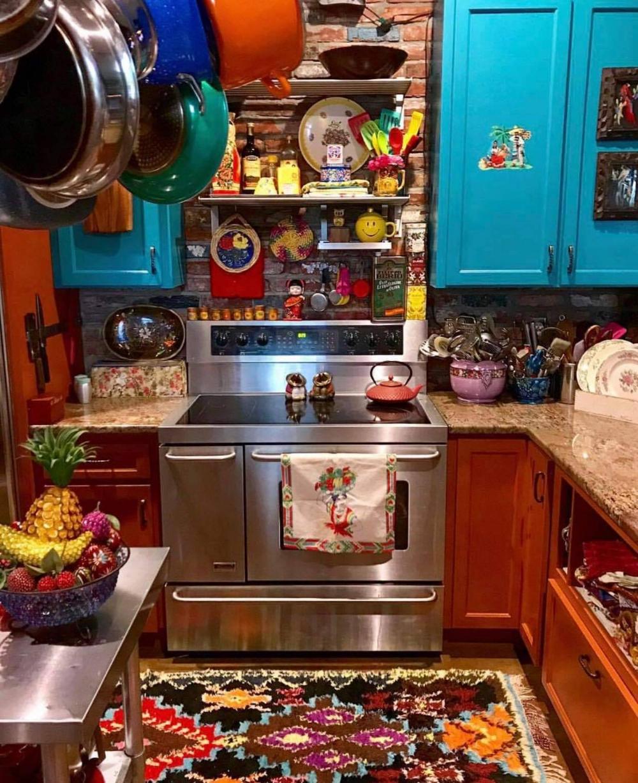 lady says in 2020 hippie kitchen eccentric decor on kitchen decor hippie id=20730
