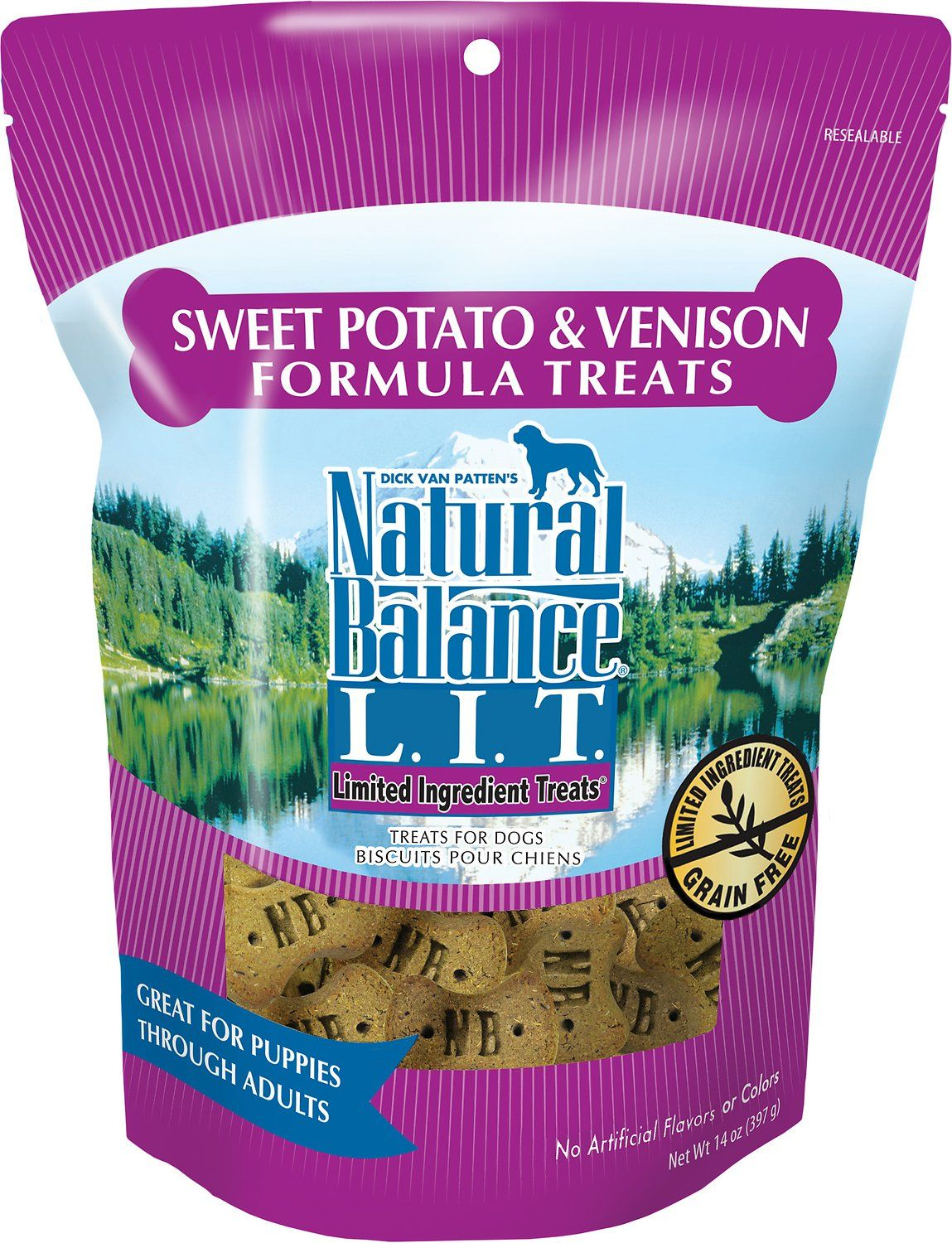 Limited Ingredient Treats are designed with a limited