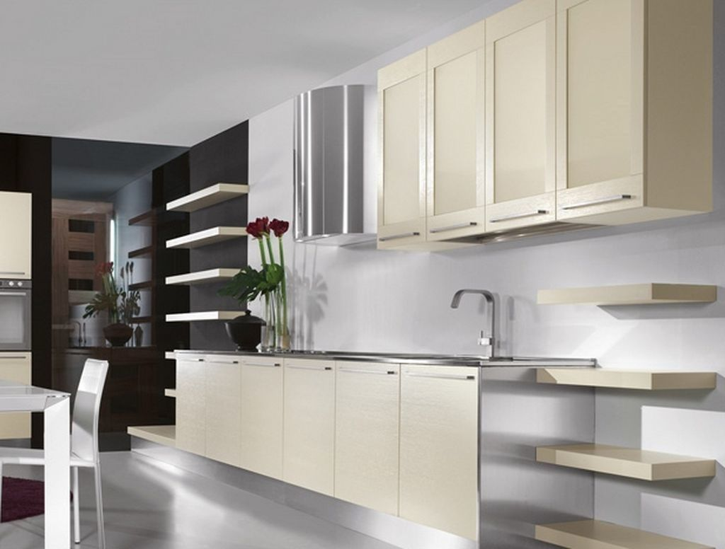 Best Sleek Twist On Aluminum Kitchen Cabinets Modern White 400 x 300