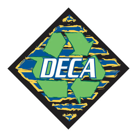 Deca Recycle Magnet Recycling Magnets Cards