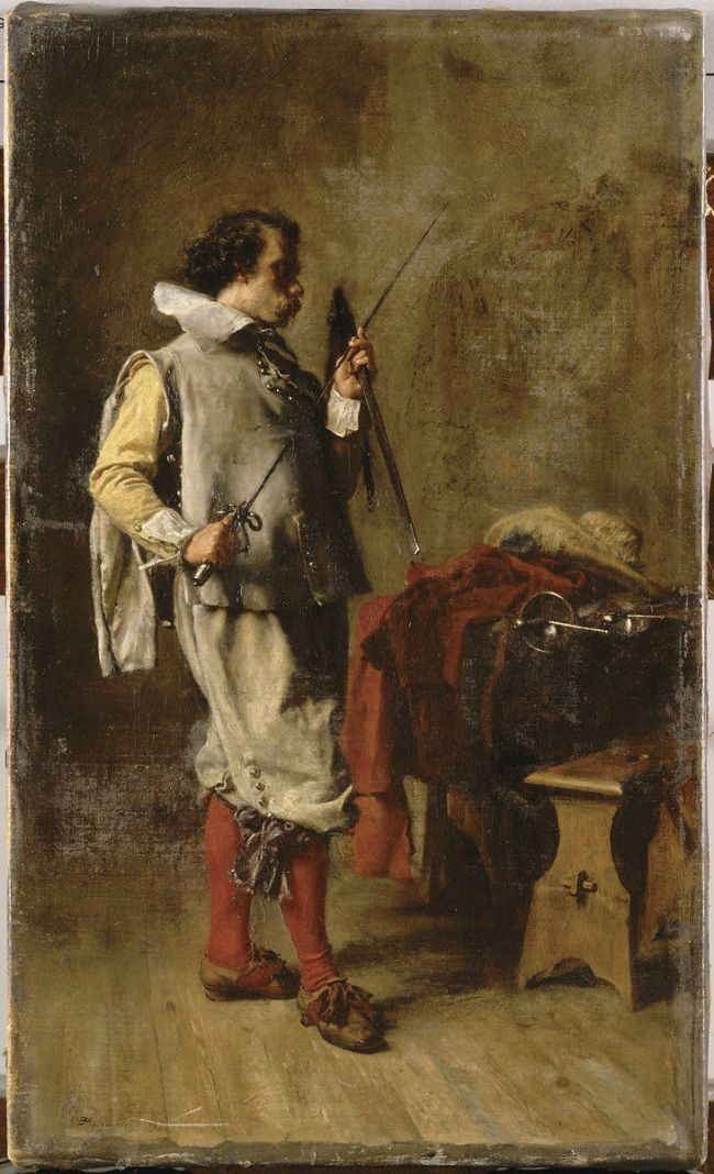 Jean Louis Ernest Meissonier 1815 1891 History Painting Historical Painting Art History