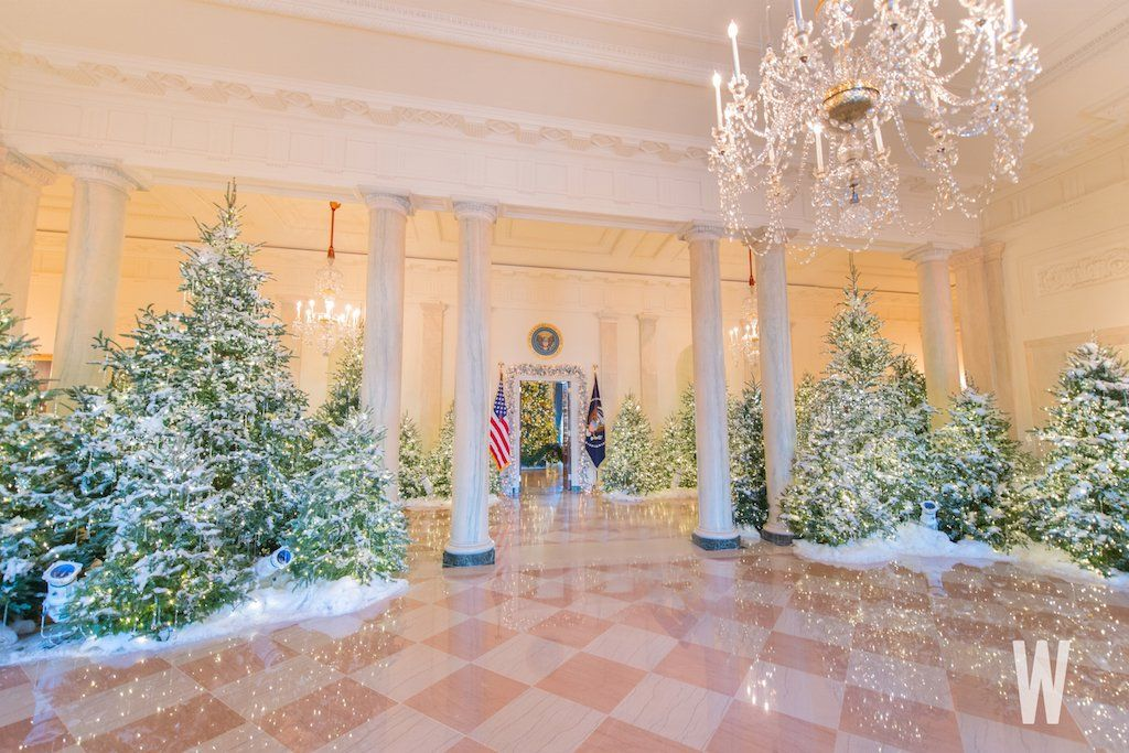 white house christmas decorations 2017 - 2017 White House Christmas Decorations