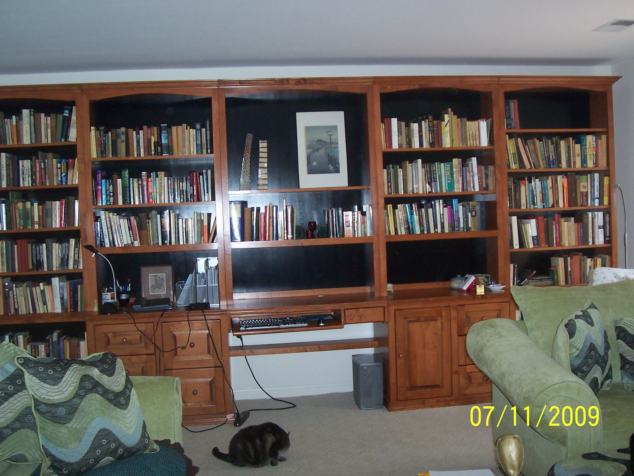 Inwood Maple Office Wall Unit Customers Photos