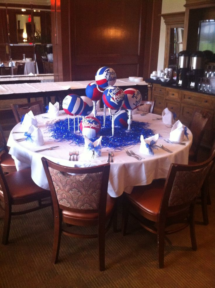 Volleyball Centerpieces - Bing Images | volleyball ...
