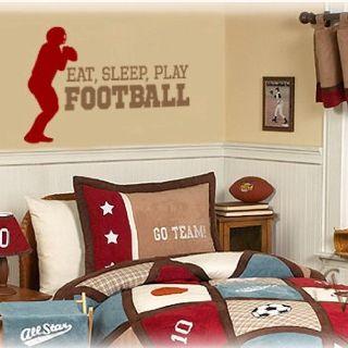 Bedrooms boys bedroom decor wesl boys football bedroom bedroom decorating ideas boys bedroom for Football bedroom decorating ideas