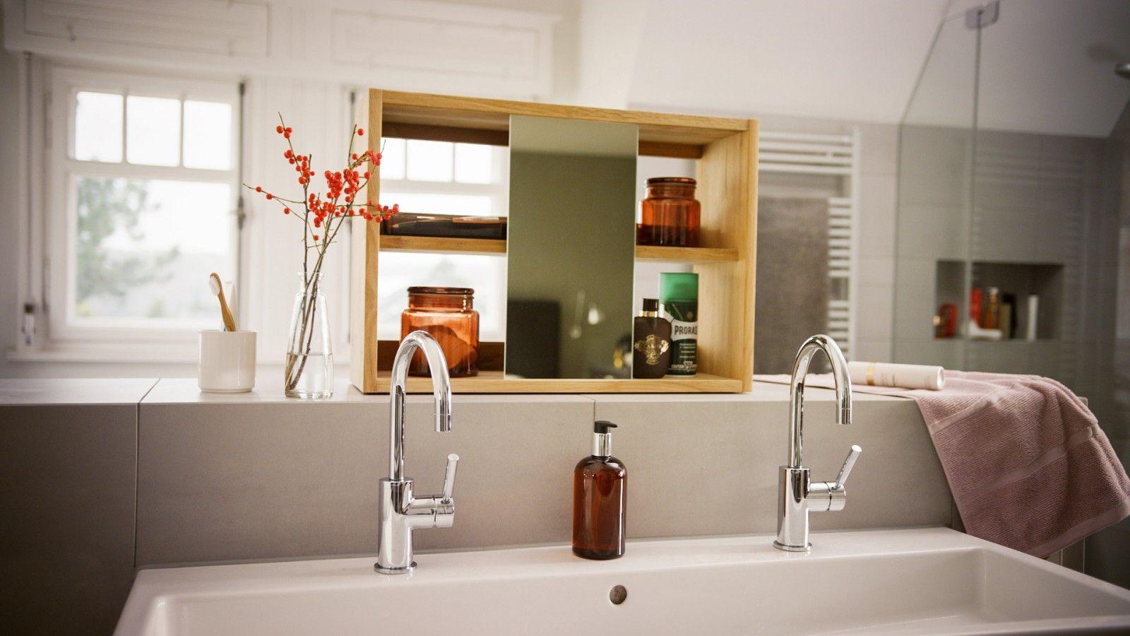 Zum Stylen Und Verstauen Der Diy Spiegelschrank Spiegelschrank