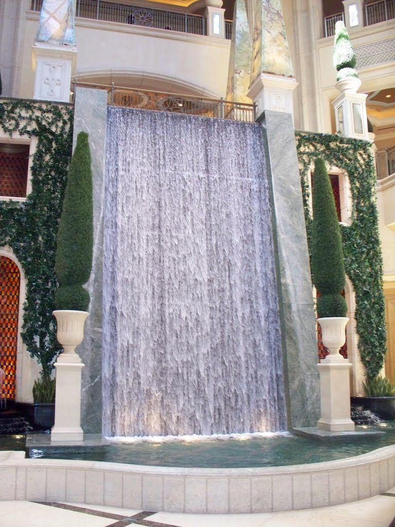 Panoramio Photo Of Palazzo Indoor Waterfall Indoor Waterfall