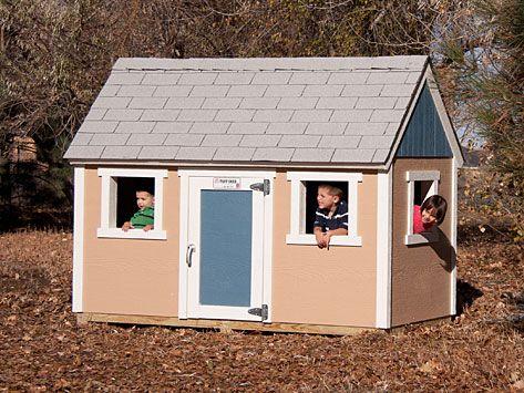 4 X8 Tuff Shed Playhouse Play Houses Backyard Playhouse Tuff Shed