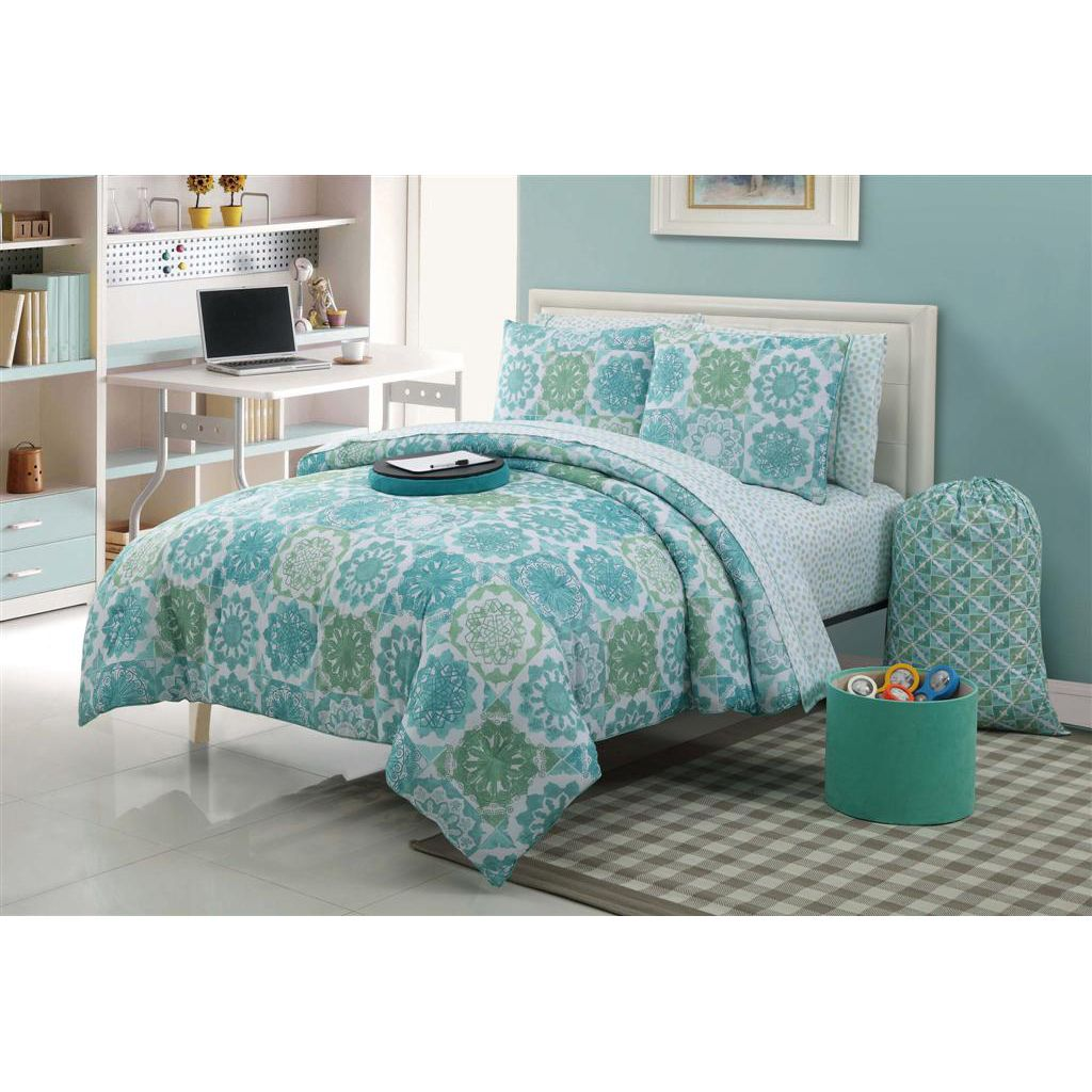 College Dorm Set And Colors Comforter Sets Dorm Decorations