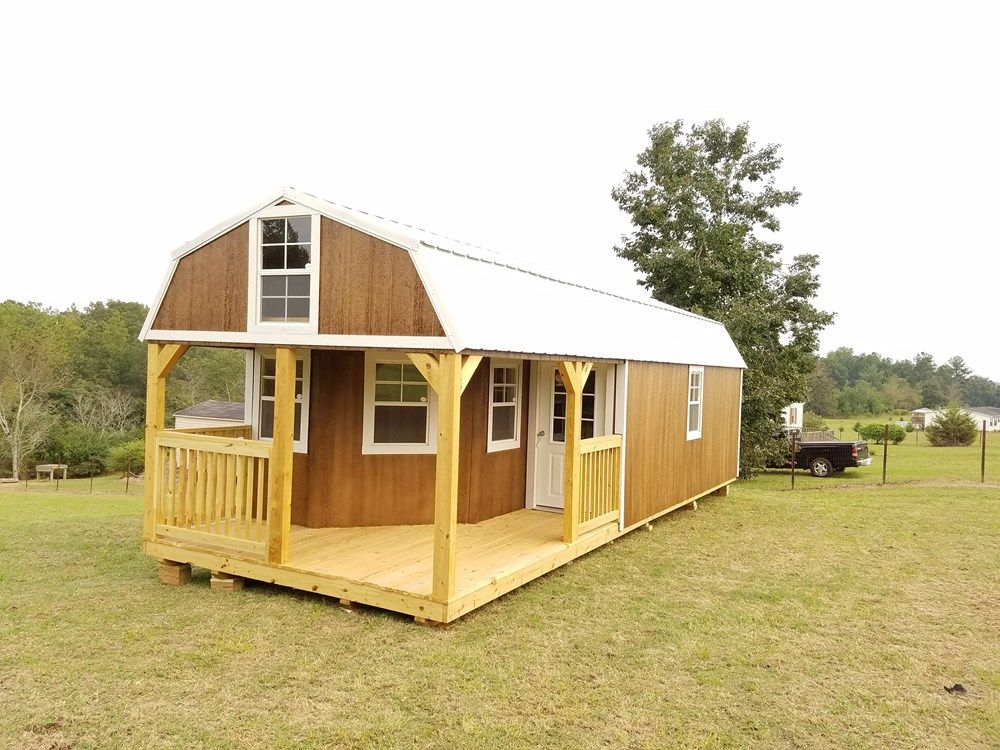 Deluxe Lofted Barn Cabin For Sale On The Tiny House