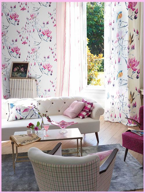 Designers Guild does it again with Kimono Blossoms