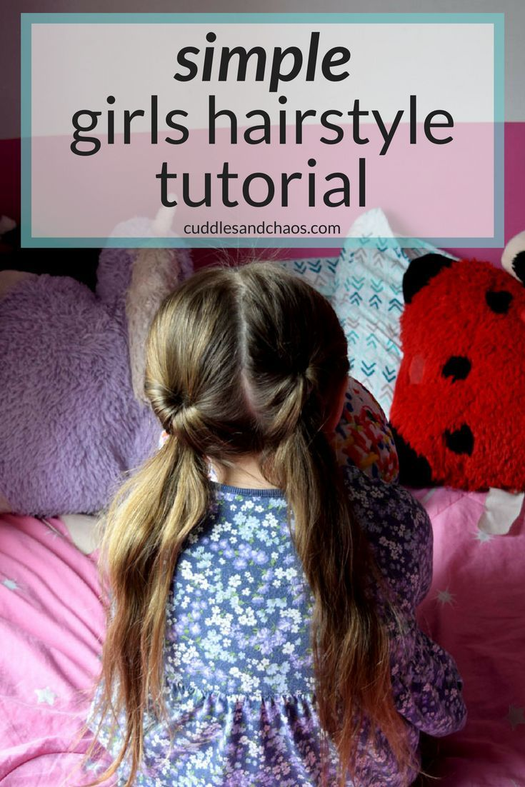 Quick and easy girls hairstyle fancy pigtails parenting from