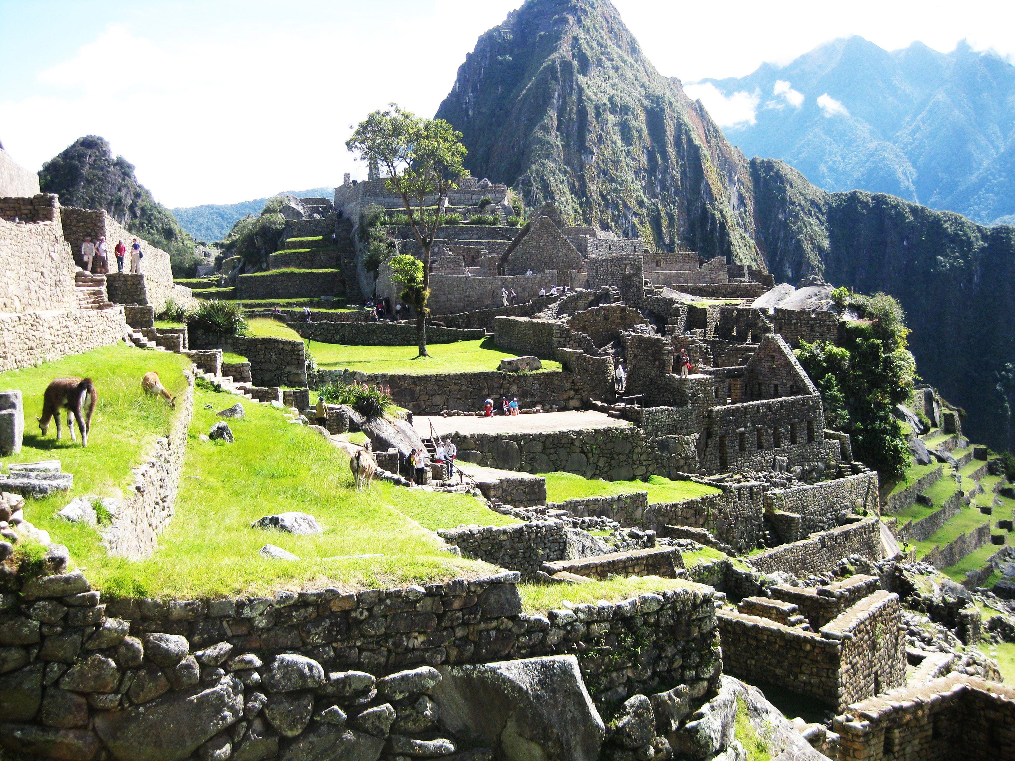 Machu Picchu, Ecuador