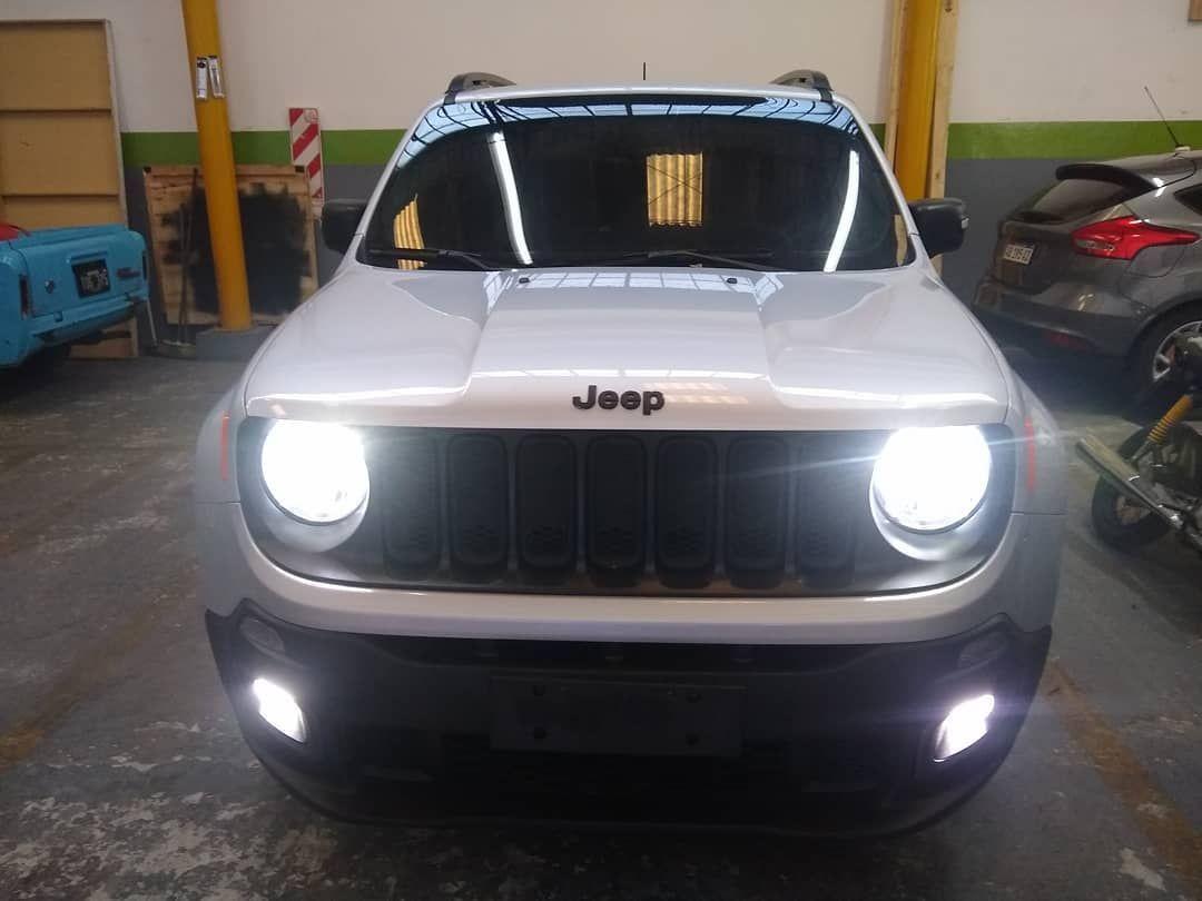 Viernes Trabajo Realizado Sobre Esta Jeep Renegade Creeled