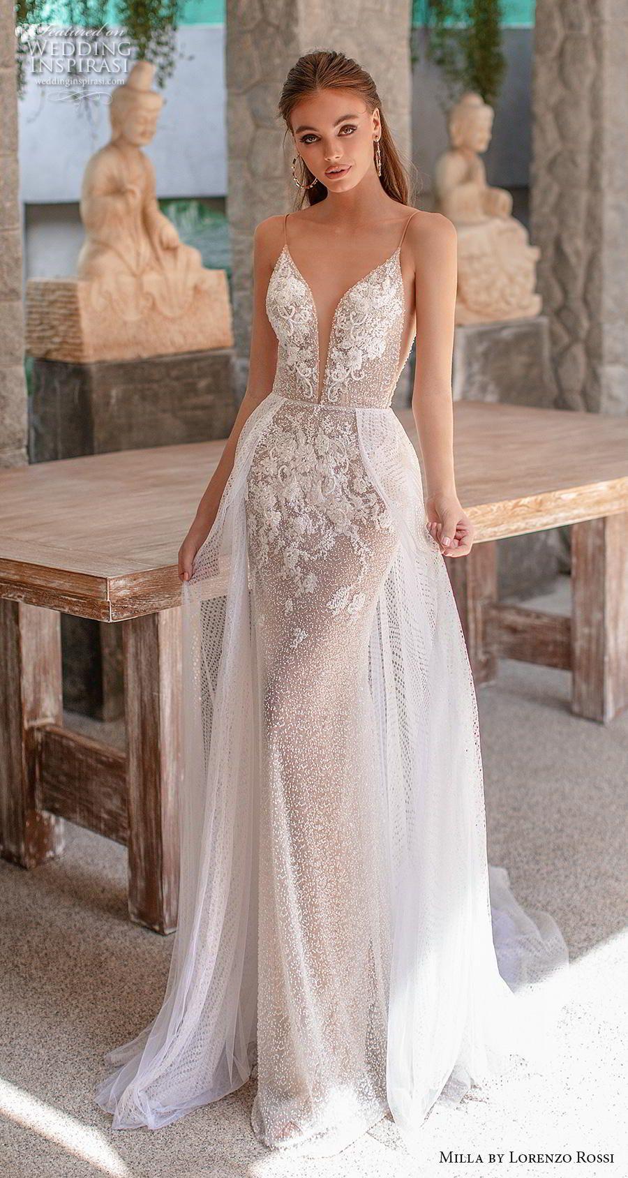 Milla By Lorenzo Rossi 2019 2020 Wedding Dresses Wedding Inspirasi Lace Beach Wedding Dress Milla Nova Wedding Dresses Wedding Dresses Lace