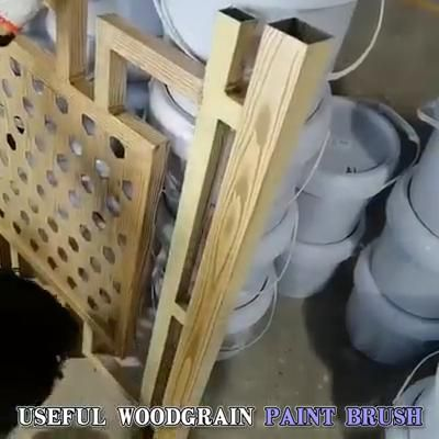 Photo of Wood Grain Rubber Painting Tool