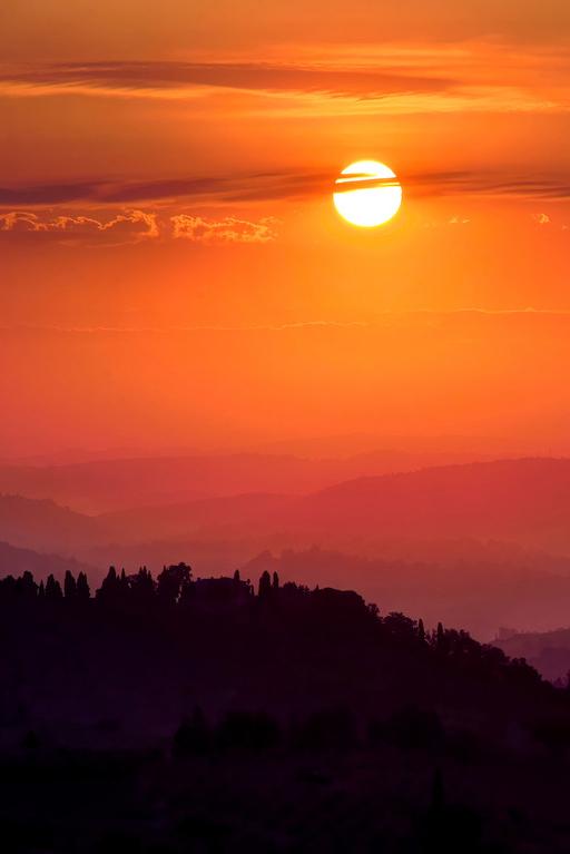 Sunrise In Tuscany H 5 55 Am By Elliottwild Beautiful Sunset Sunrise Sunrise Sunset