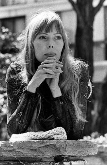 Joni photographed by Doug Griffin in 1968