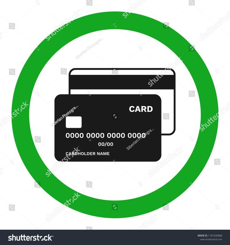 Credit cards accepted sign vector icon acceptedcards