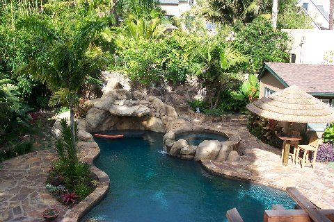 Nice Tropical Pool Design Ideas, Pictures, Remodel And Decor