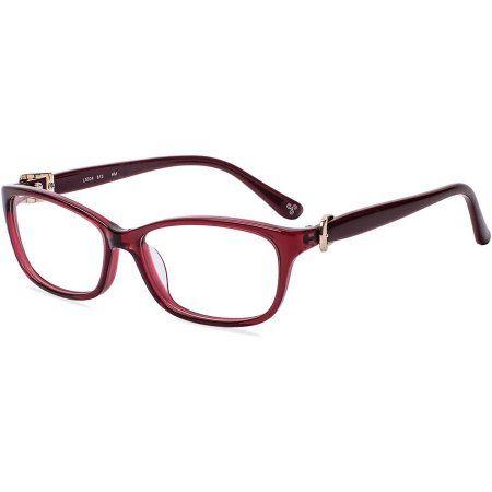 Designer Looks for Less Womens Prescription Glasses, L5004 Brown