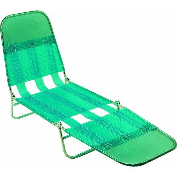 Steel Pvc Jelly Folding Chaise Lounge By Do It Best Global