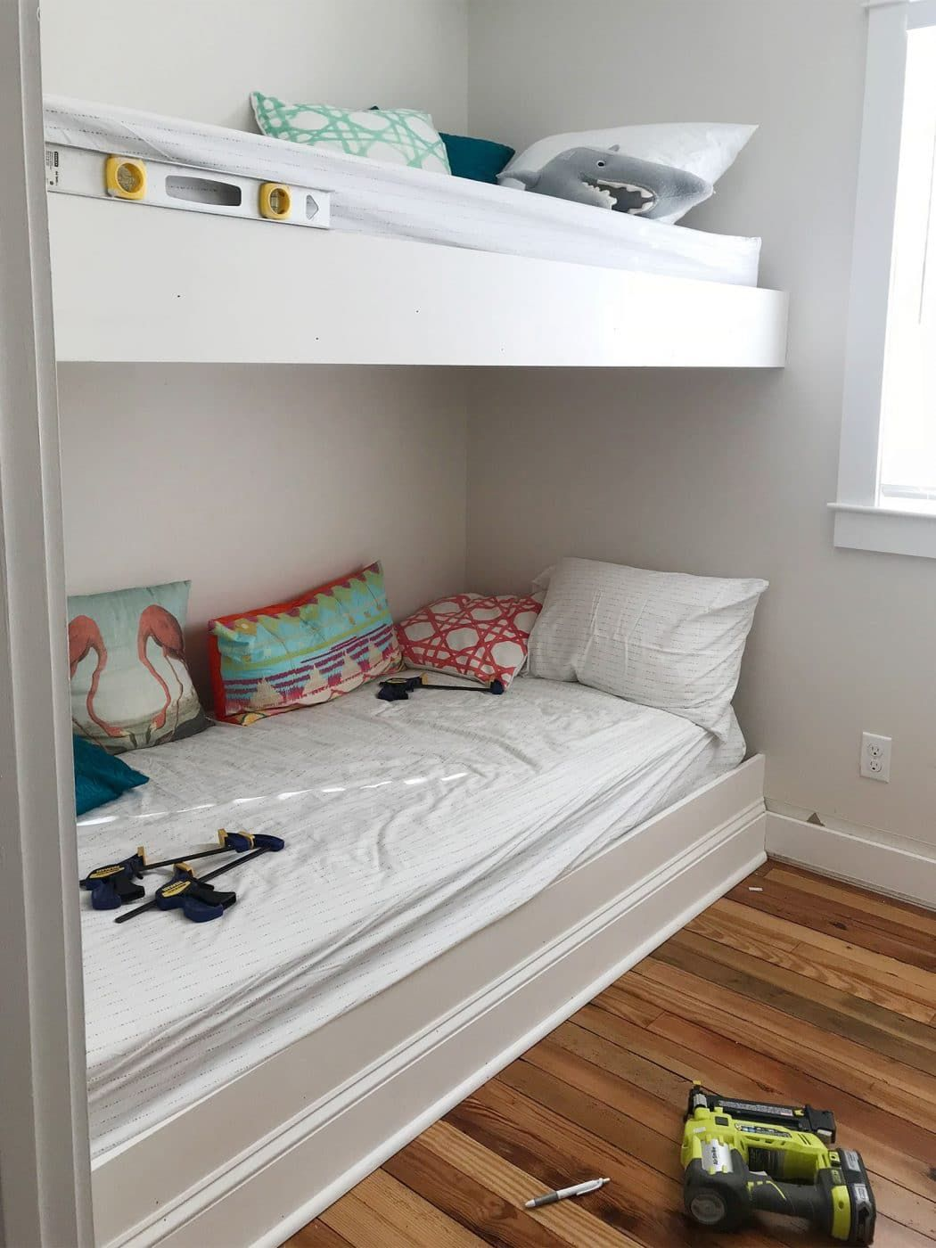 Best How To Make Diy Built In Bunk Beds With Images Bunk 400 x 300