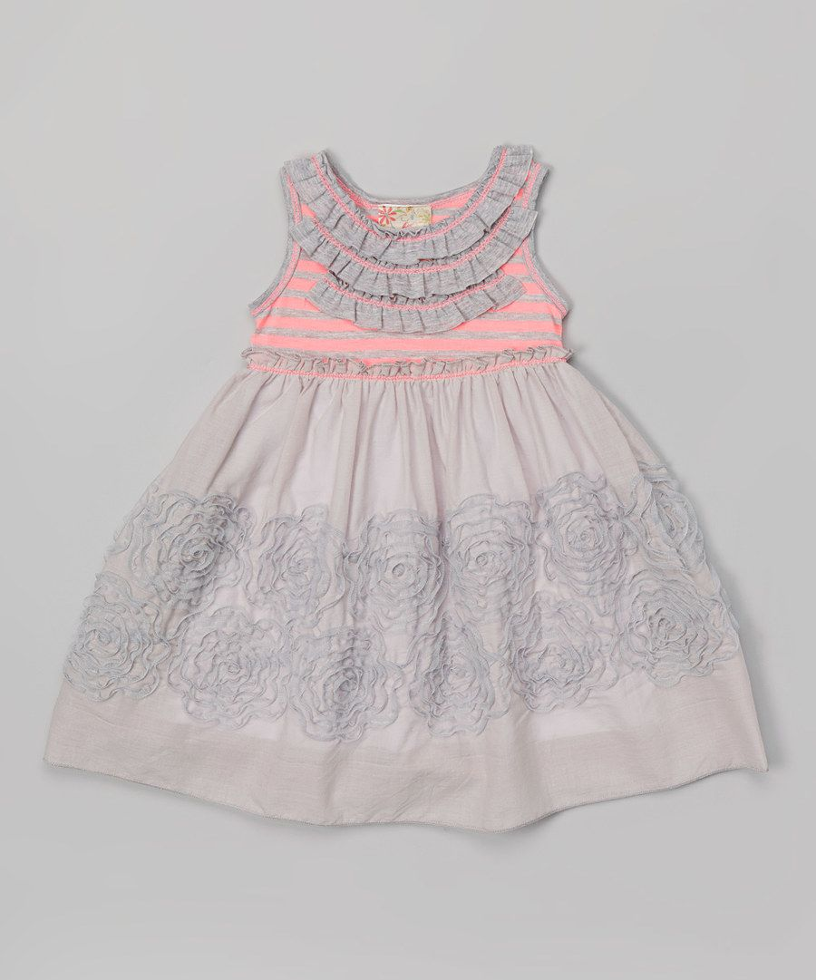 af3ebc3b38f5 Look what I found on zulily Peach Maggie Dress Bloomers Infant