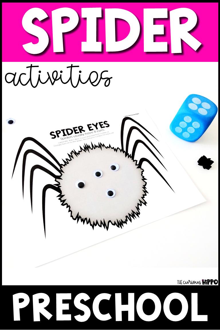 Spider Activities For Preschool Literacy Activities Preschool Math Activities Preschool Spider Activities [ 1152 x 768 Pixel ]