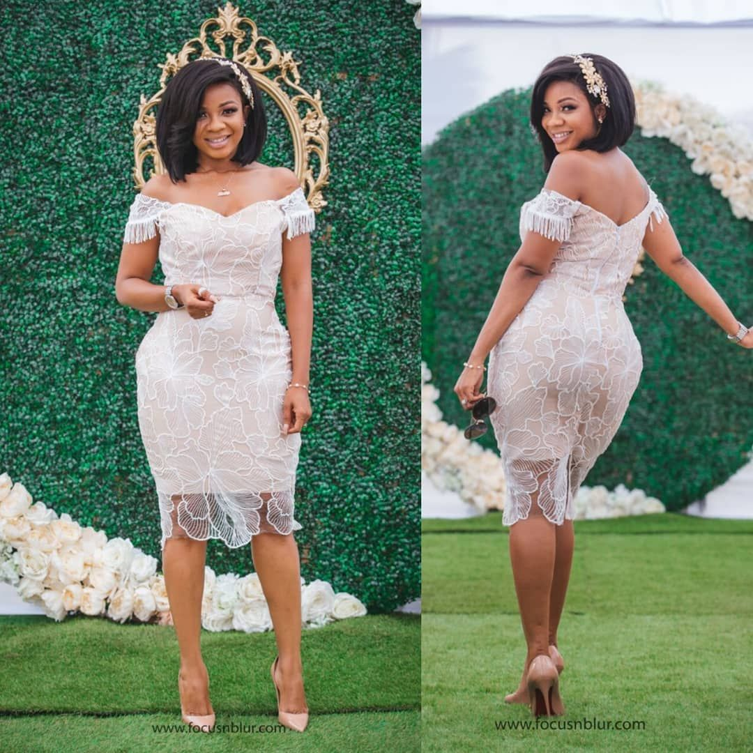 Image May Contain 2 People People Standing African Lace Dresses Lace Dress Classy Lace Dress Styles