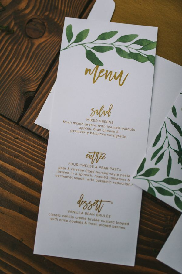 Olive Garden Menu Pdf: Boho Wedding Inspiration In The Lush Little Cottonwood