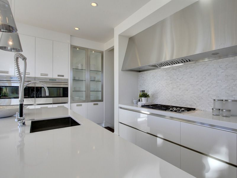 Contemporary   Whites   Downsview Kitchens and Fine Custom Cabinetry   Manufacturers of Custom Kitchen Cabinets. Available at Astro Home Design Centre in Ottawa.