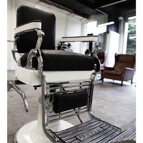 Vintage Barber Chair Kapsels