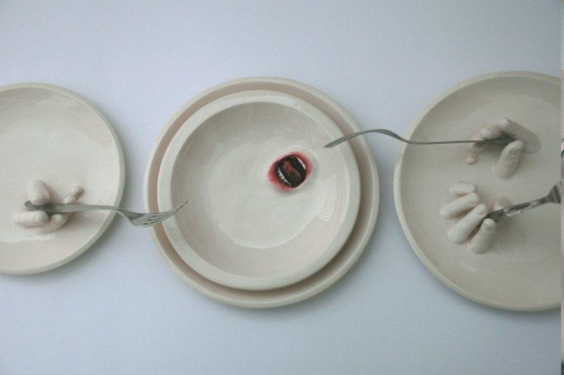 Ronit Baranga, Clay Sculpture - רונית ברנגה, פיסול בחומר