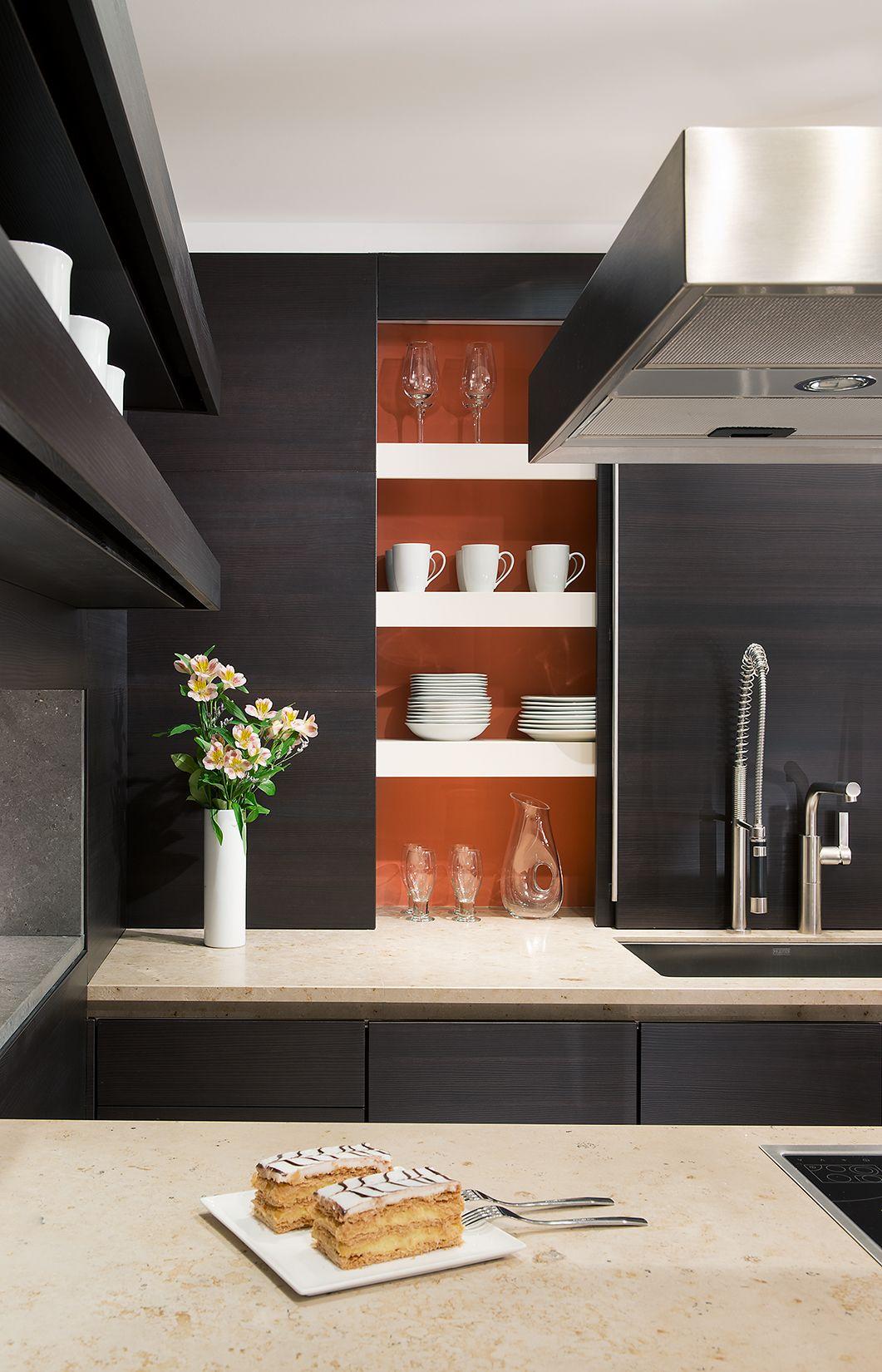 KONST SieMatic Kitchen Interior Design - Grey Modern Cabinetry