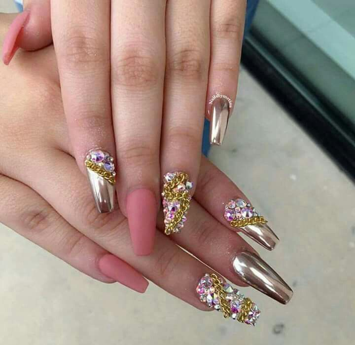 Pin de La\'Keysha Moyd en Nails | Pinterest | Diseños de uñas