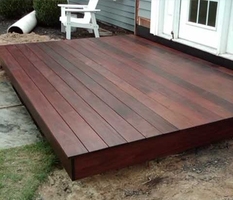 This is what i want a floating deck just bigger for Floating platform deck